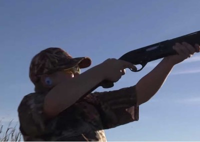 11 years old dove hunter