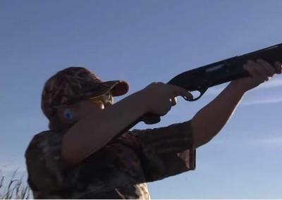 11 years old dove hunter